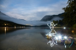 Light Unleashed (In Camera Light Painting), Bohinj Jezero