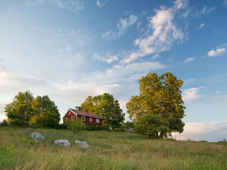 Falu Rödfärg (Traditional Falu Red Swedish House), Nyköping